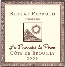 Côte de Brouilly La Fournaise du Pérou