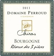 Bourgogne Blanc Chiras - Réserve des 3 pièces